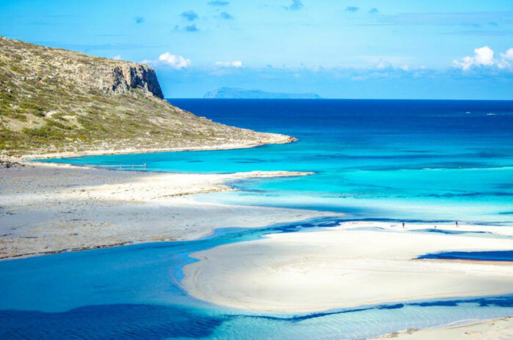 Strandtips: Balos Lagoon, Grekland