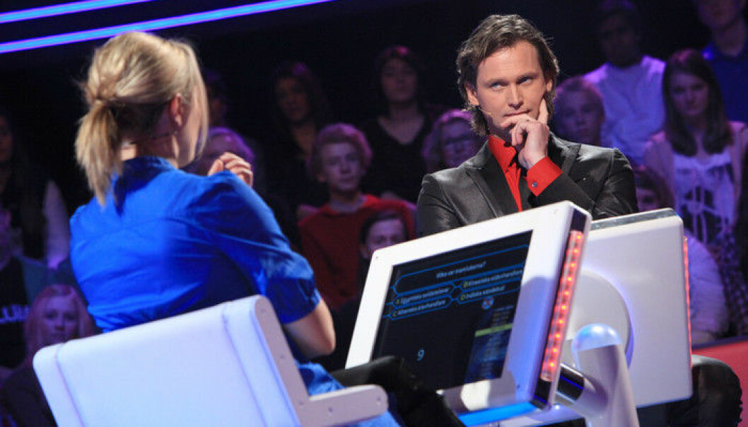 Programledaren Rickard Sjöberg firar 15 år med Postkodmiljonären.
