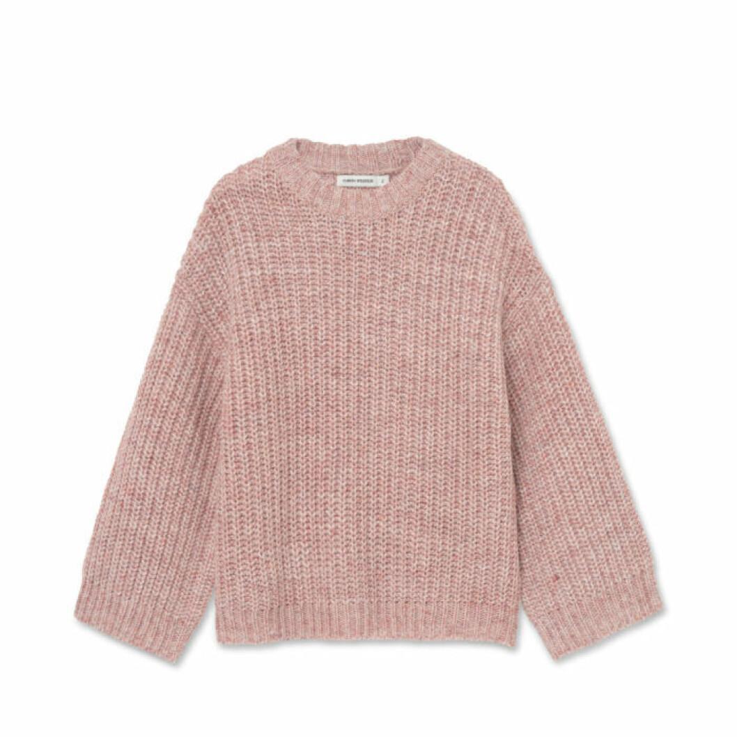 Rosa stickad tröja från Carin Wester/Åhléns