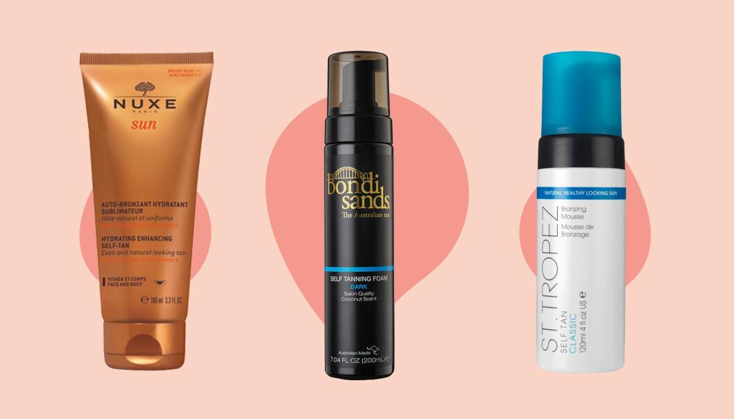 10 bästa brun utan sol produkterna
