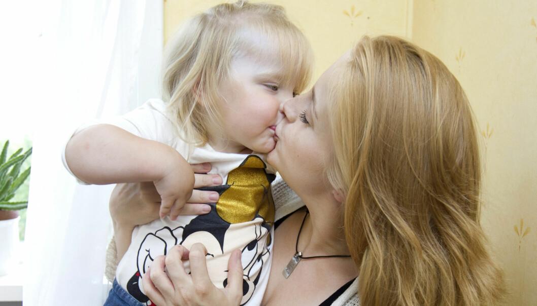 Efter attt hon förlorade första barnet är Jonna så tacksam för att Ehlina finns.