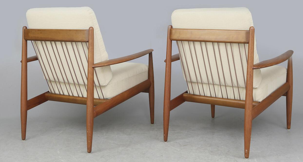 1950-tals stolar av Grete Jalk för France & Daverkosen.