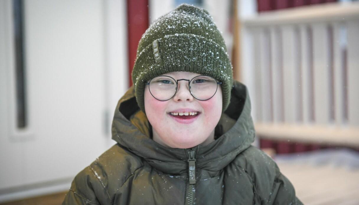 Gabriel har Downs syndrom