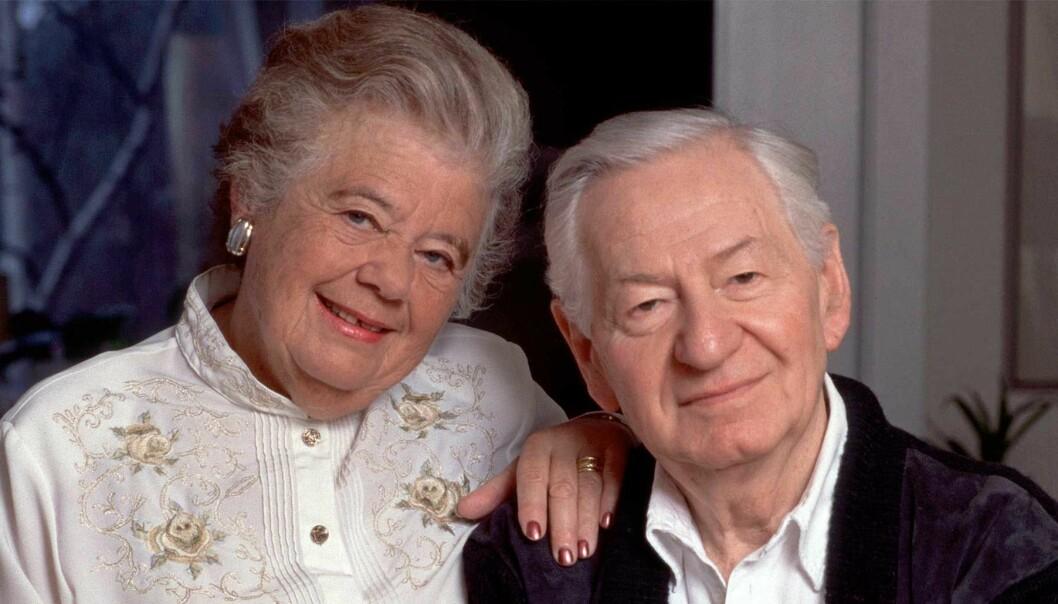 Lena Einhorns föräldrar Nina och Jerzy Einhorn