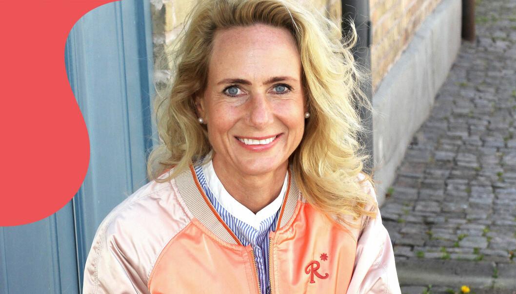 Porträtt av Linda som rest jorden runt för att hedra sin mamma