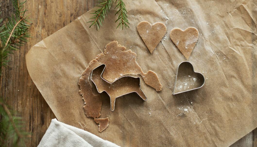 Pepparkaksformar att använda när man bakar till jul.