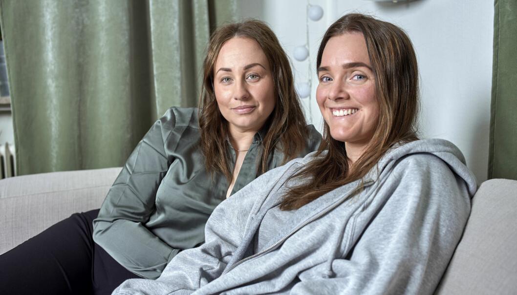 Michelle och Cissi längtar efter barn