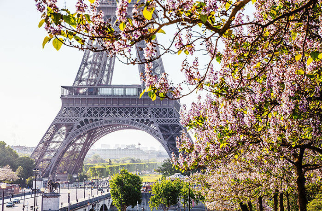 Bo på hotell med barn i Paris