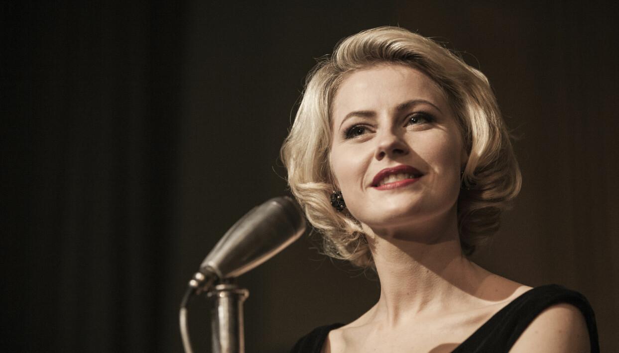 Skådespelaren Edda Magnasson gör comeback i serien Box 21. På bilden gestaltar hon Monica Z.