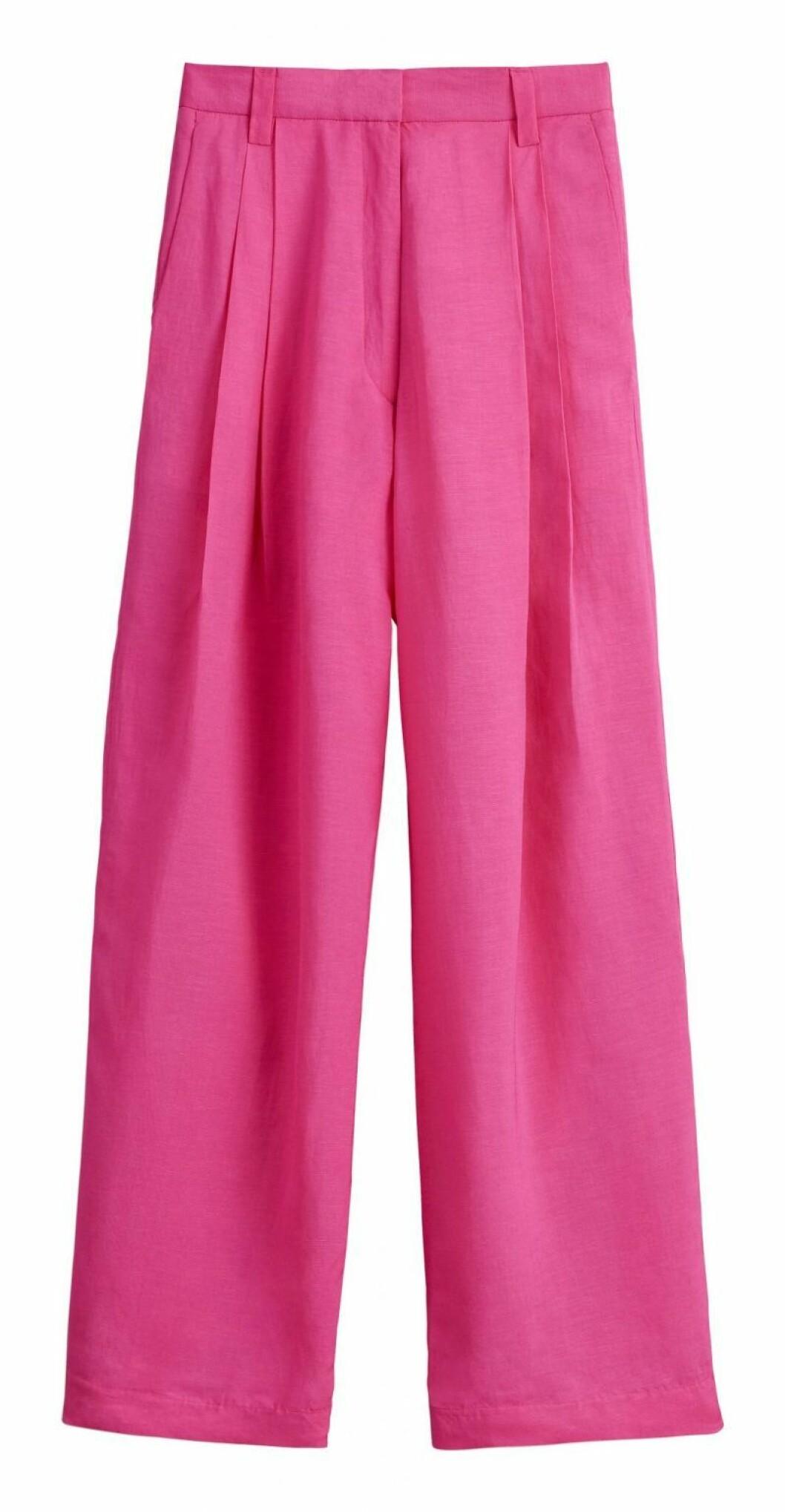 Rosa kostymbyxor H&M Studio SS20