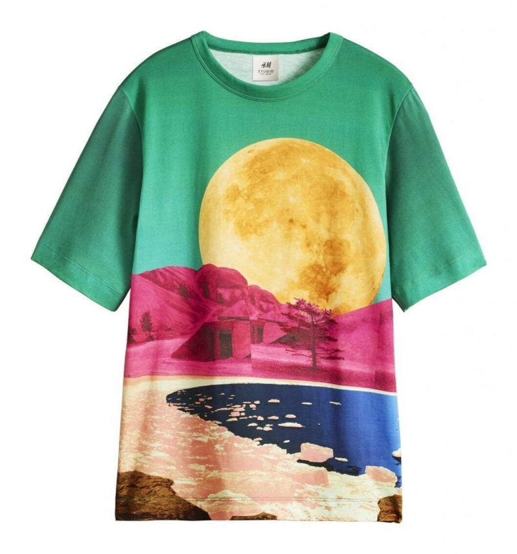 Månprint t-shirt H&M Studio SS20