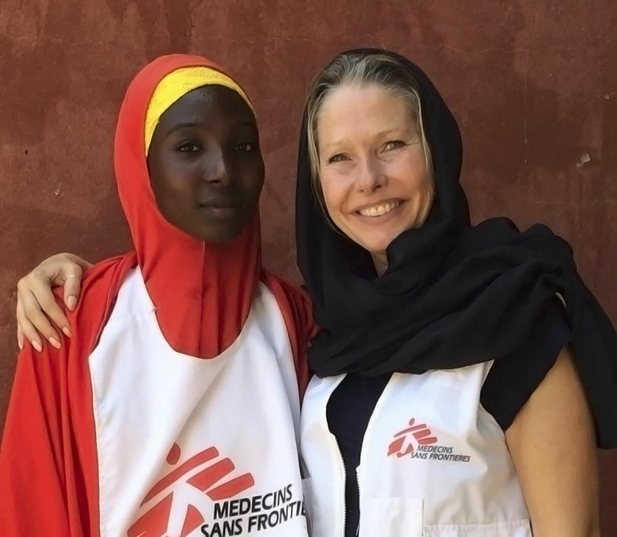 Kari arbetar för Läkare utan gränser
