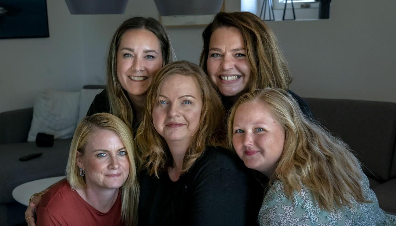 MS-sjuka Trine Johansen och hennes väninnor som startat en insamling