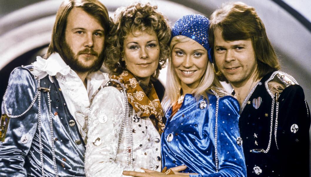 ABBA vann Melodifestivalen 1974 med Waterloo.