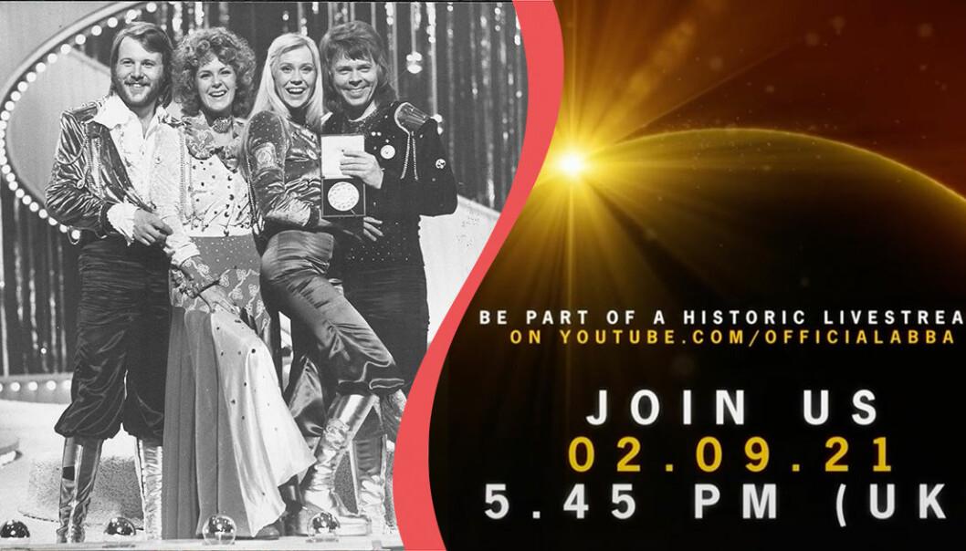 ABBA återförenas enligt deras konto på TikTok.