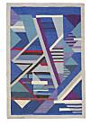 Matta av Agda Österberg i färgstarkt mönster