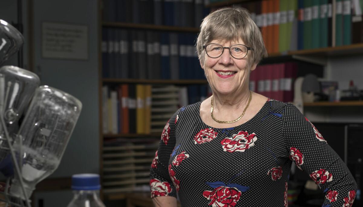 Agnes Wold har hyllats för sitt raka sätt att kommunicera kring coronaviruset.