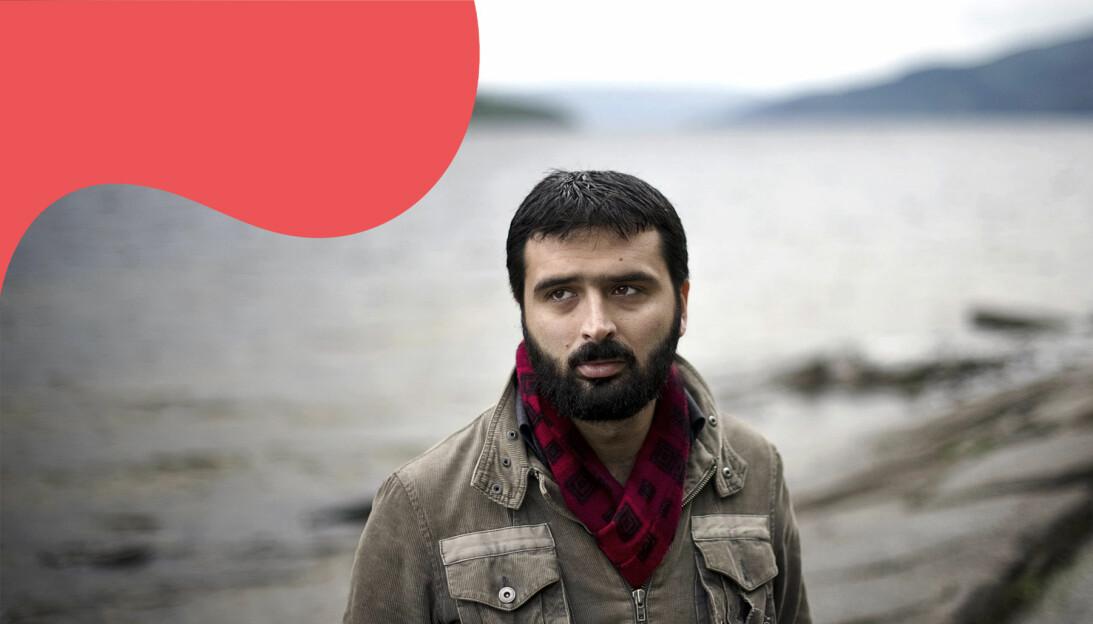 Ali Esbati, Sverige överlevde massakern på Utøya