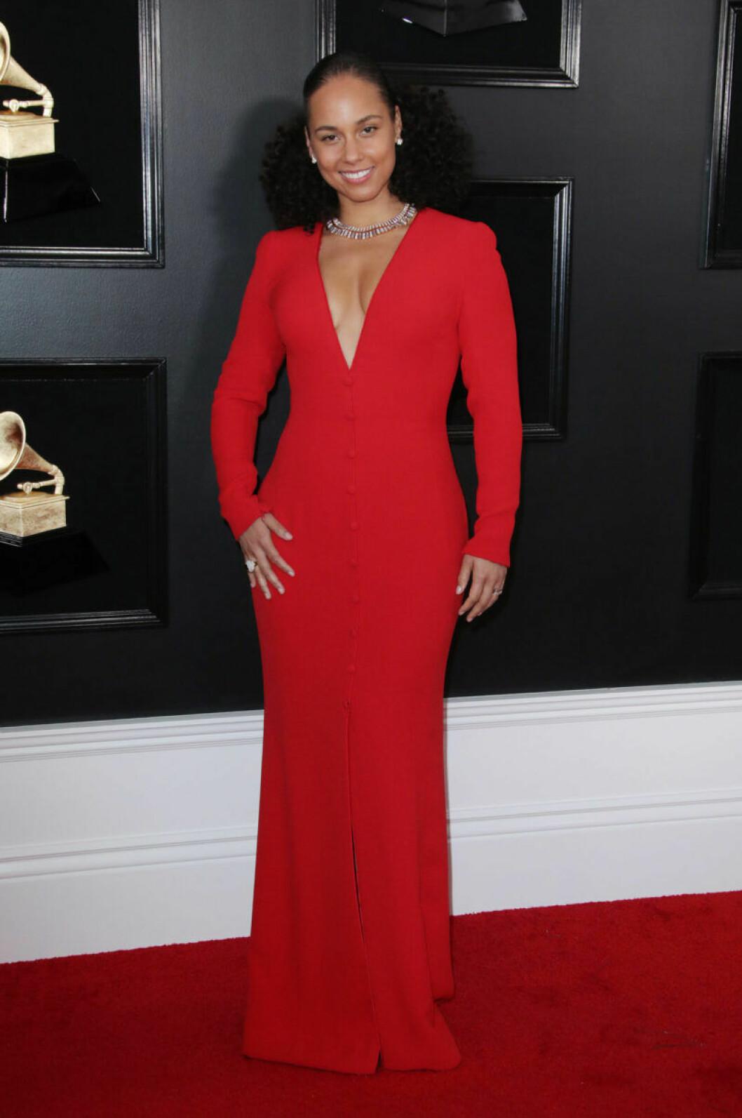 Alicia Keys på Grammy Awards 2019