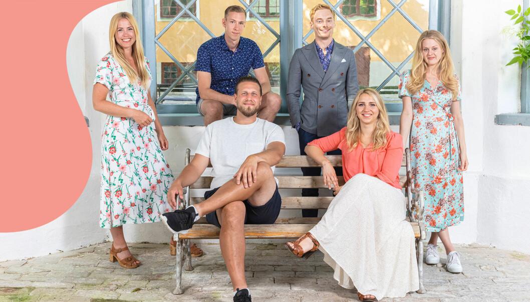 Alla deltagare i Gift vid första ögonkastet som sänds i SVT våren 2021.