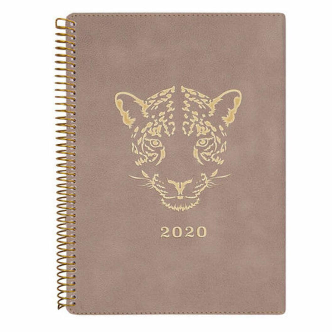 Kalender med tigertryck