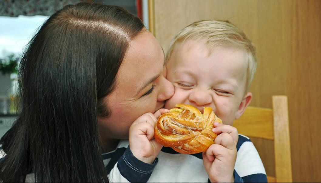 Efter åtta års kamp för att bli gravid fick Helena och Lars äntligen sin son.