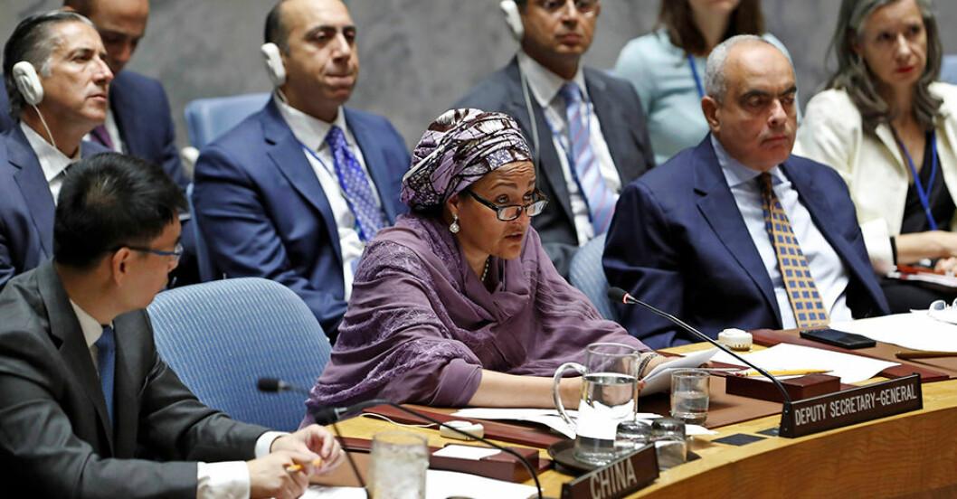 Amina J Mohammed FN