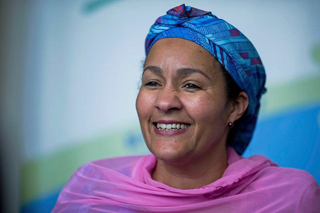 Amina Mohammed FN