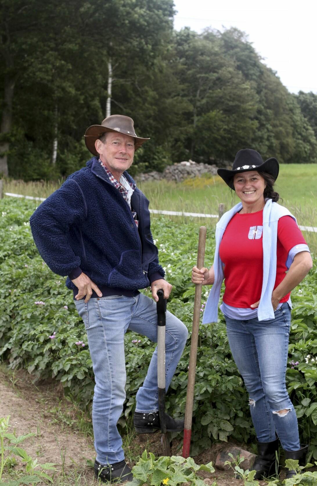 Anders och Iwona blev bönder inspirerade av Mandelmanns.