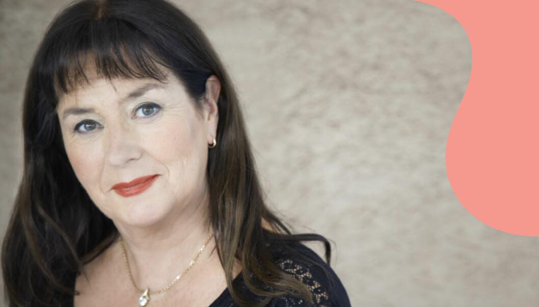 Anna Jansson som nyligen firade 20 år som författare.
