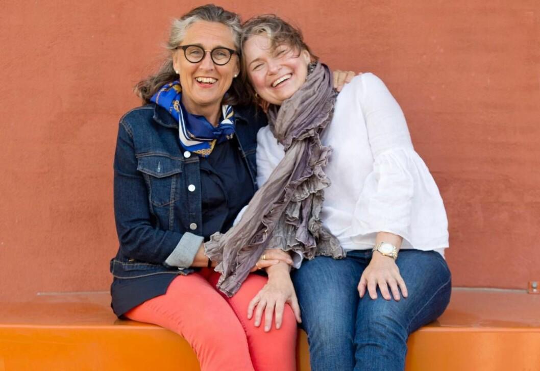Anna och Marinka är kollegor och vänner.