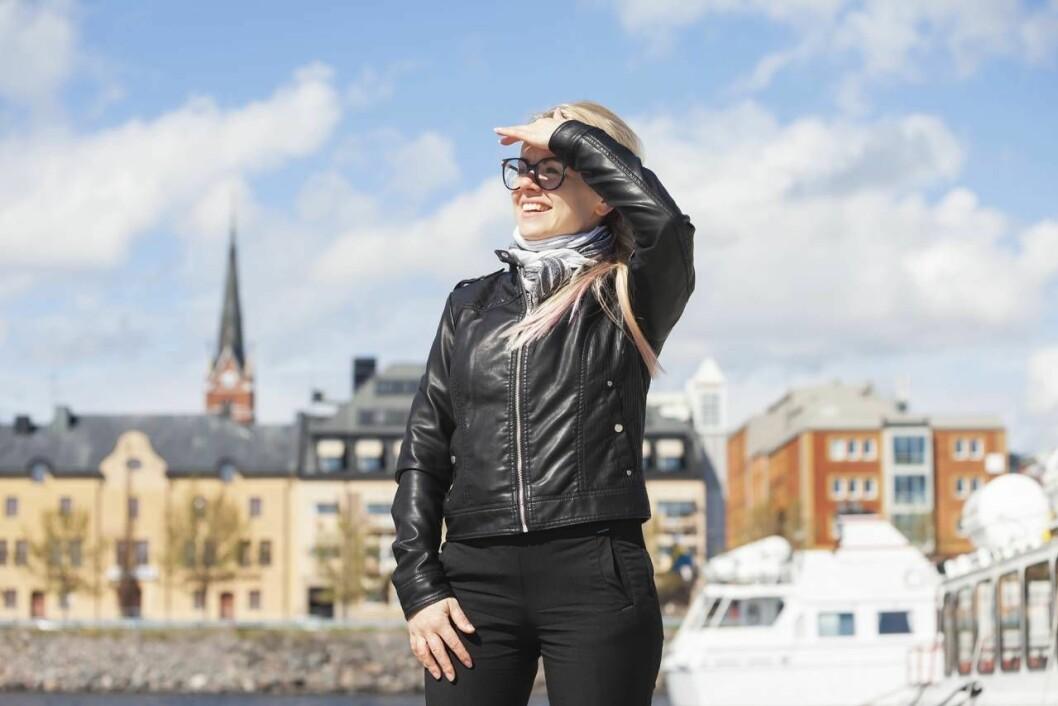 Anna Pugacova har skapat ett nytt liv i Sverige
