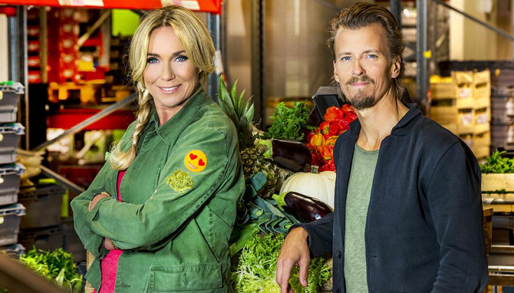 Anne Lundberg och Paul Svensson i SVT:s Maträddarna