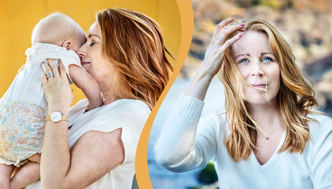 Annie Lööfs dotter Saga föddes 2019 när Annie Lööf var gravid i vecka 28. I TV4:s program Renées brygga berättar Annie Lööf om hur det var.