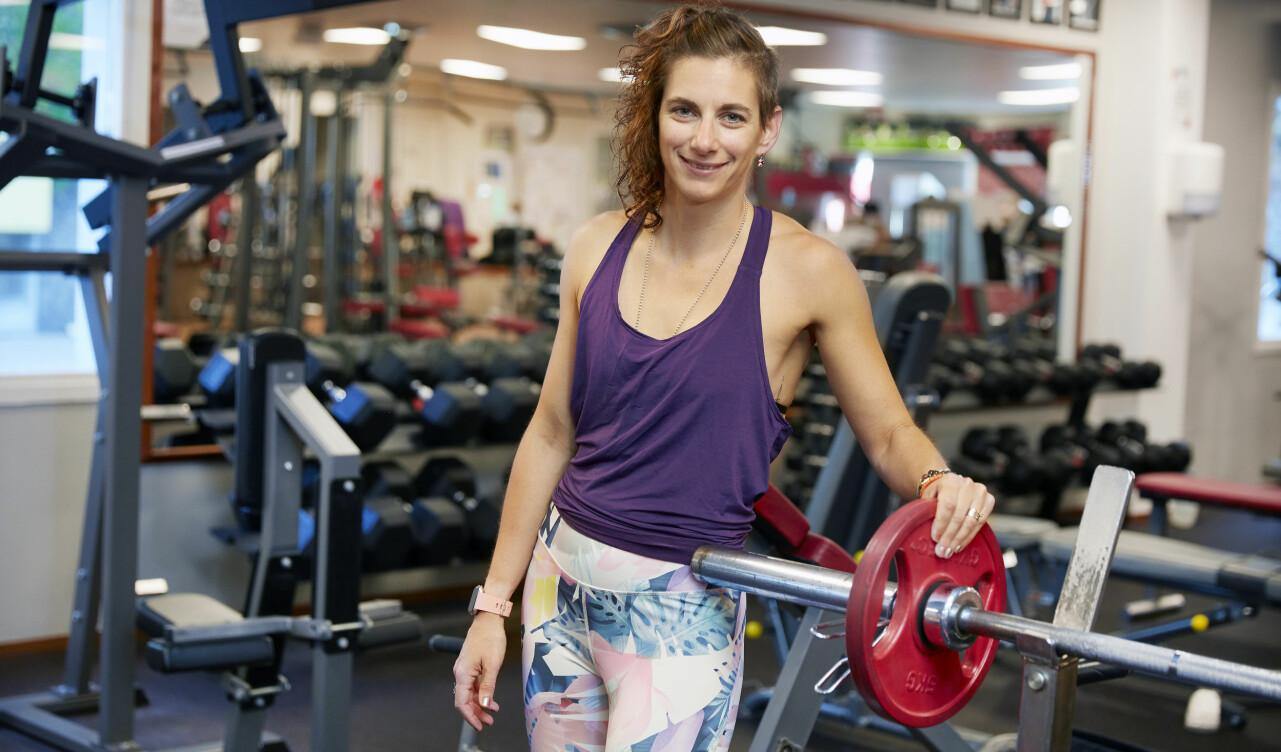 Annika, som har IBS, berättar hur magen blir lugn av träning.