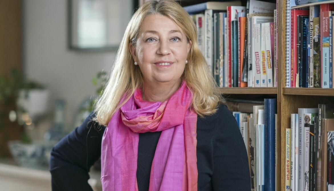 Porträtt av ekonomen Annika Creutzer.