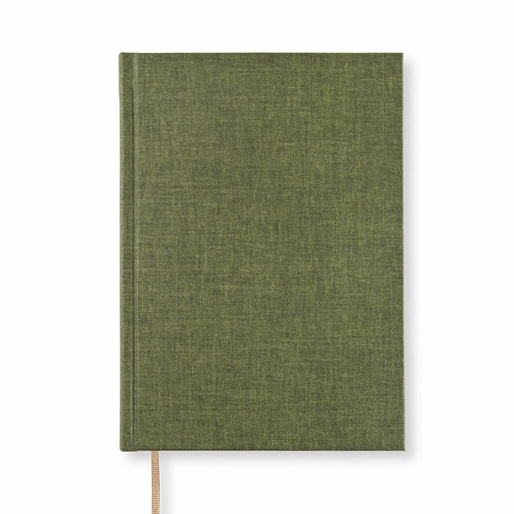 linjerad antecknignsbok