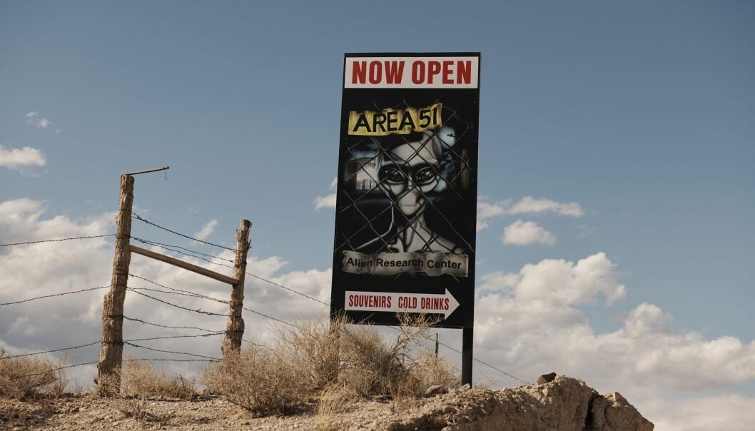 Area 51, UFO-mecka