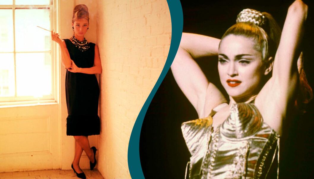 Audrey Hepburn har burit plagg som blivit ikoniska inom mode.