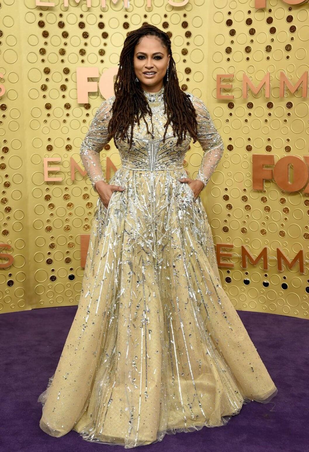Ava Duvernay på röda mattan på Emmy Awards 2019