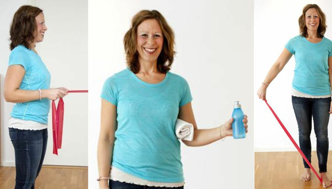 4 enkla övningar för axlar och rygg