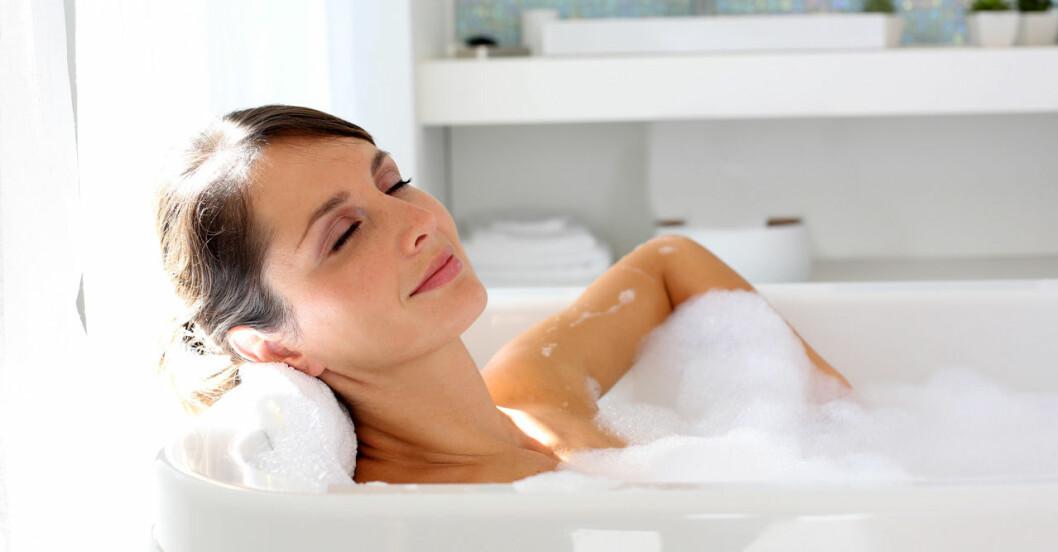 Bad kan vara mer effektivt mot depression än motion.