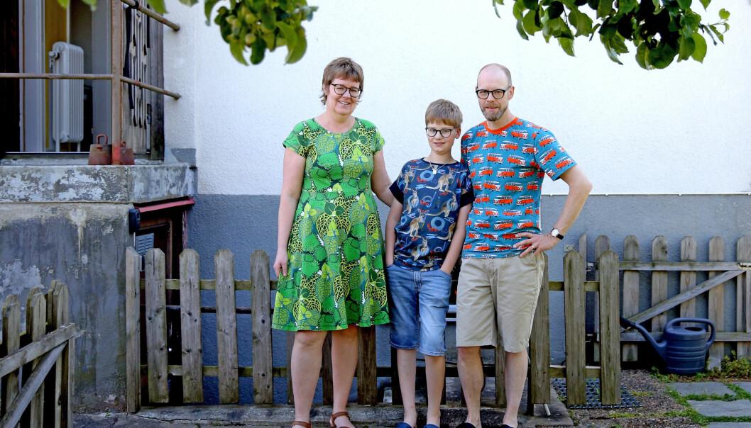 Både Sofies son Algot och maken Ola har fått diagnosen ADHD.
