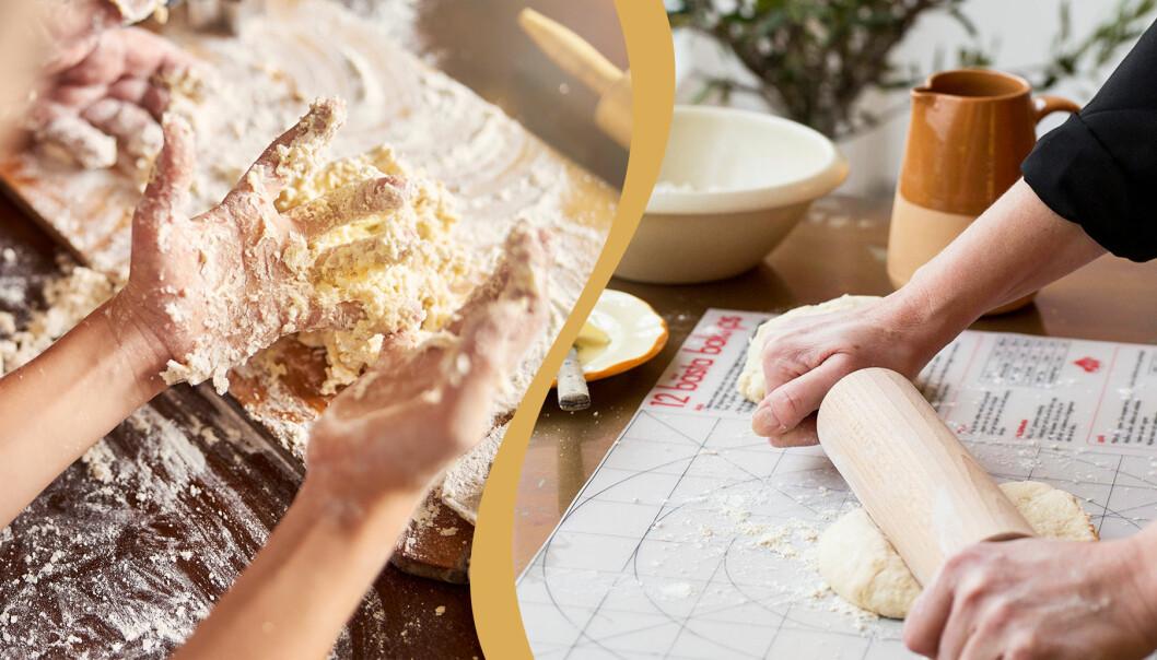 Bakmatta som underlättar bakningen.