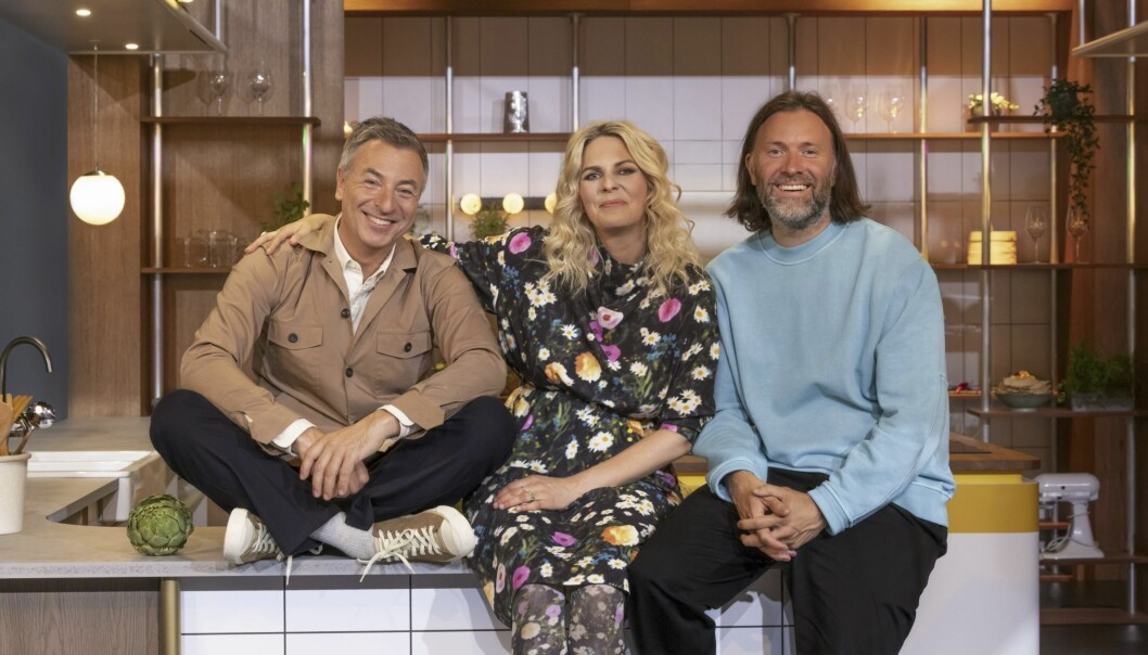 Tareq Taylor, My Feldt och Niklas ekstedt är jury i SVT-programmet Bäst i köket.
