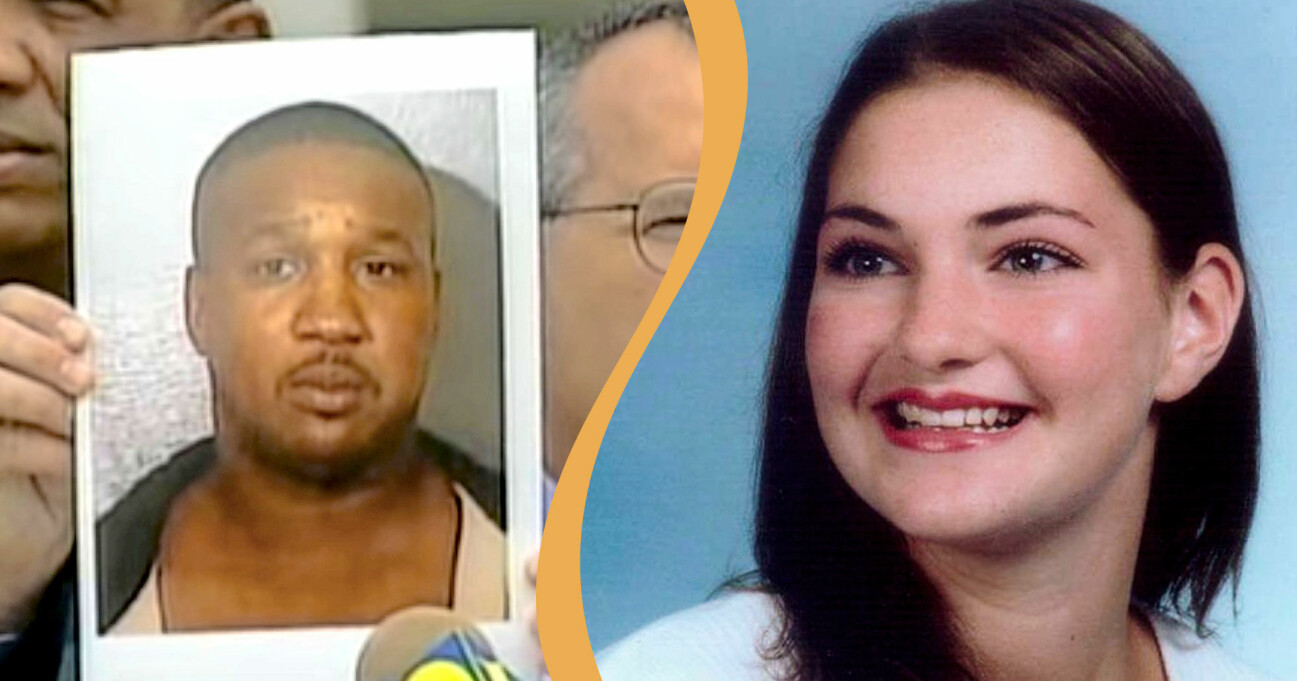 Den dömde mördaren Derrick Lee Todd och ett av hans offer Charlotte Murray Pace.