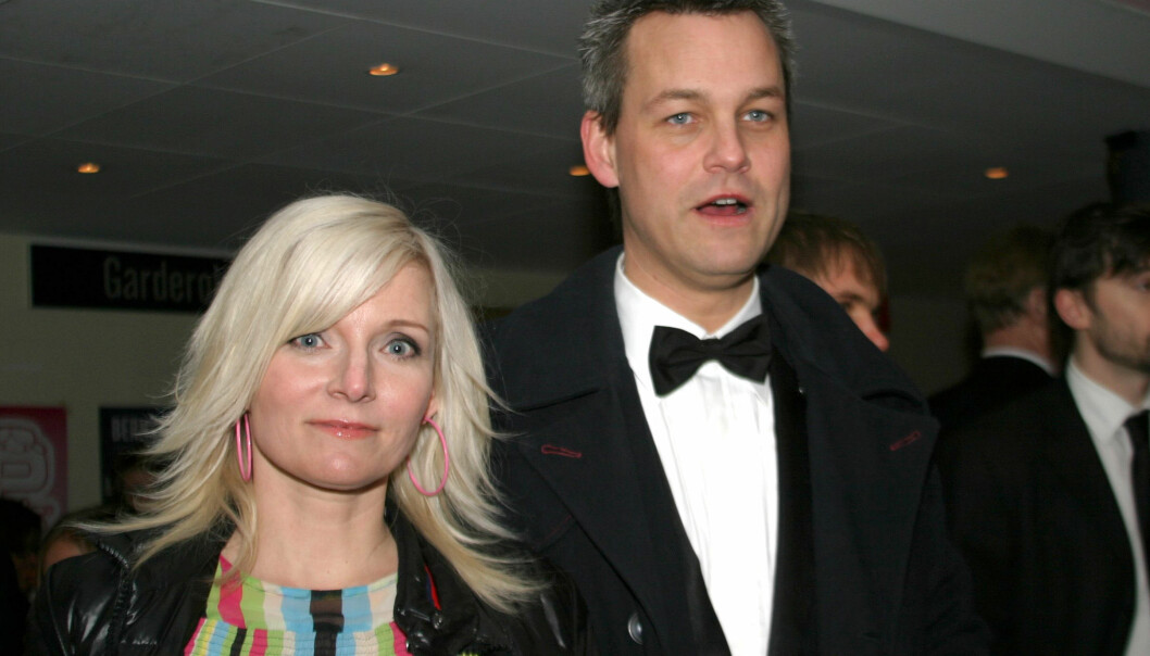 Bea Uusma och Henrik Schyffert på Filmgalan 2005.