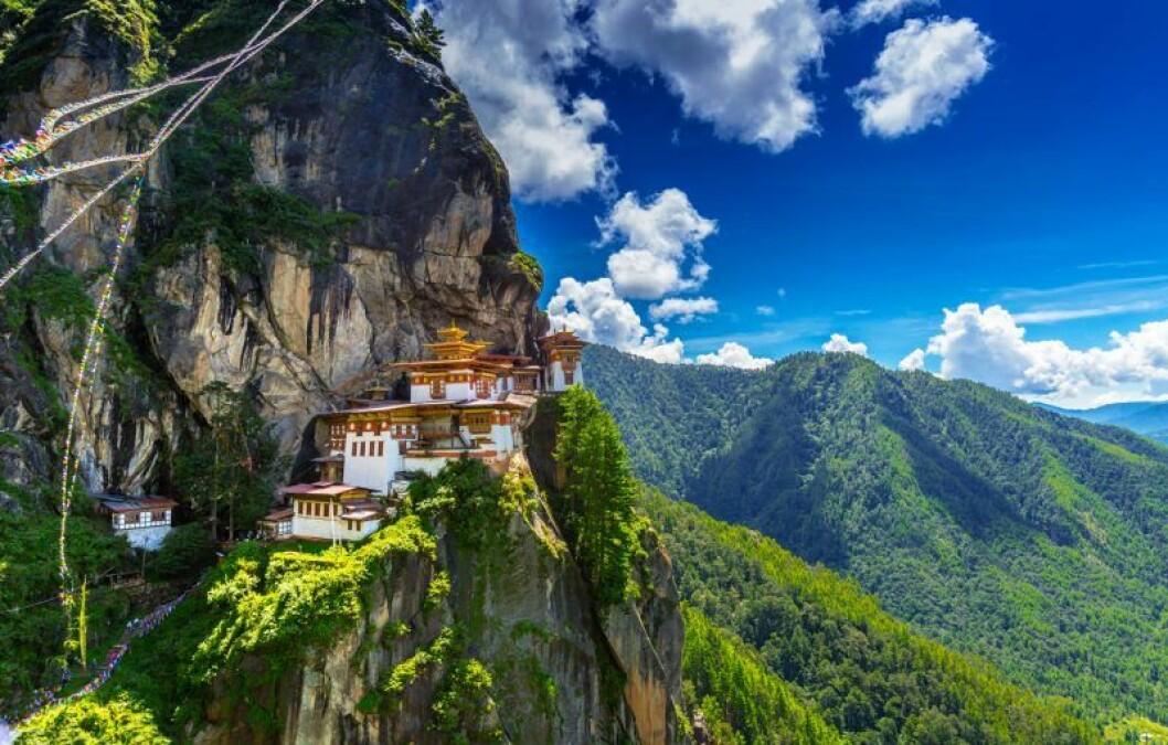 bergen i Bhutan