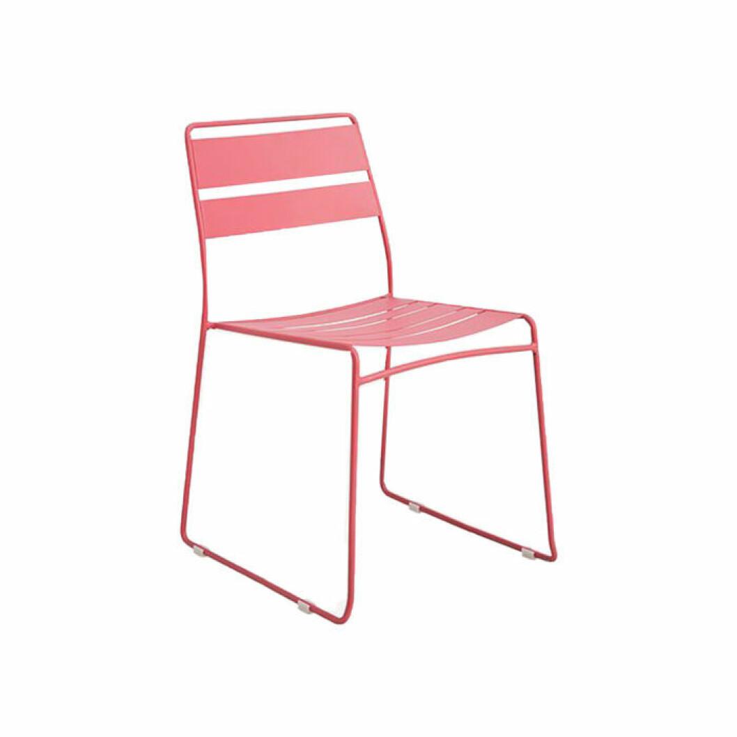 budgetmöbler till balkongen stol i pastellfärg