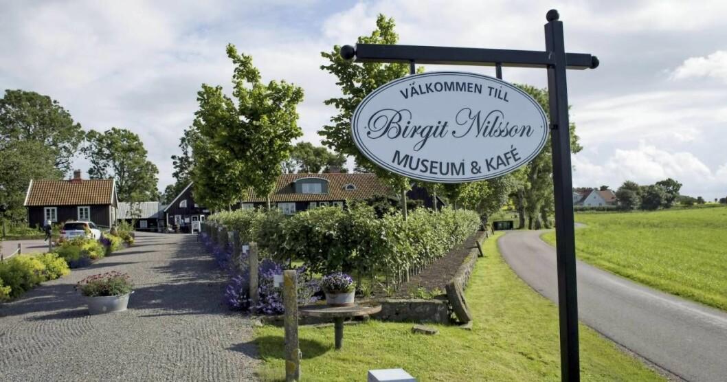 Ingången till Birgit Nilsson museum